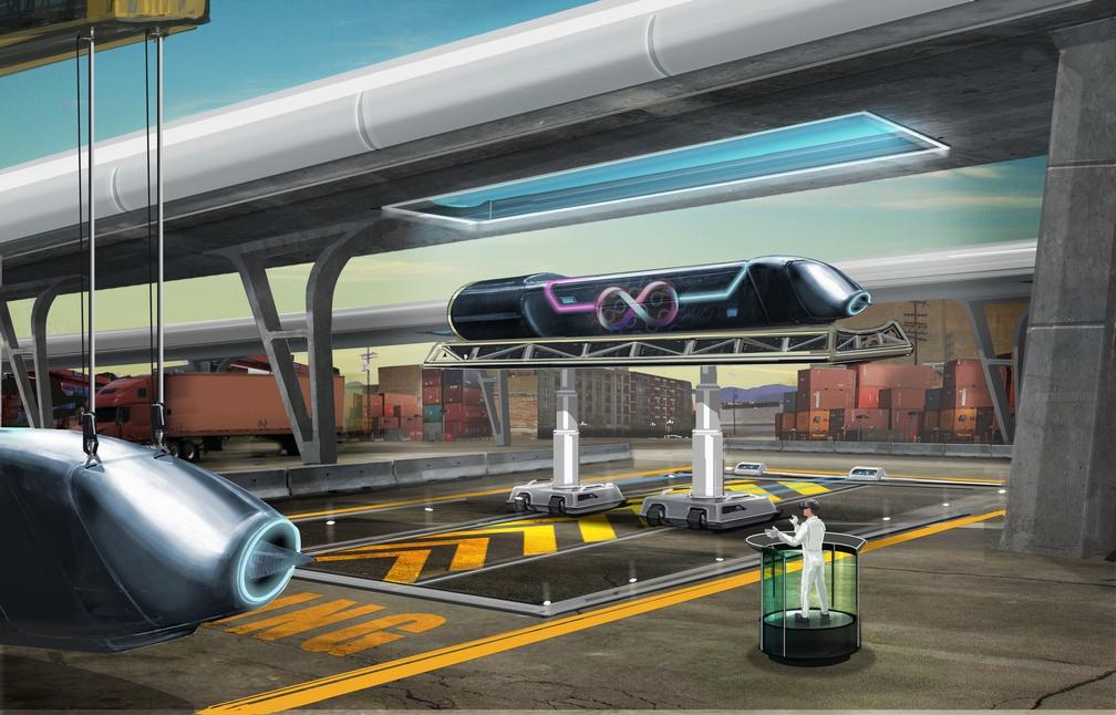 Hyperloop, le train du futur pourrait débarquer àLyon