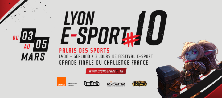 Le festival ESport 2017 va faire vibrer Lyon ce week end