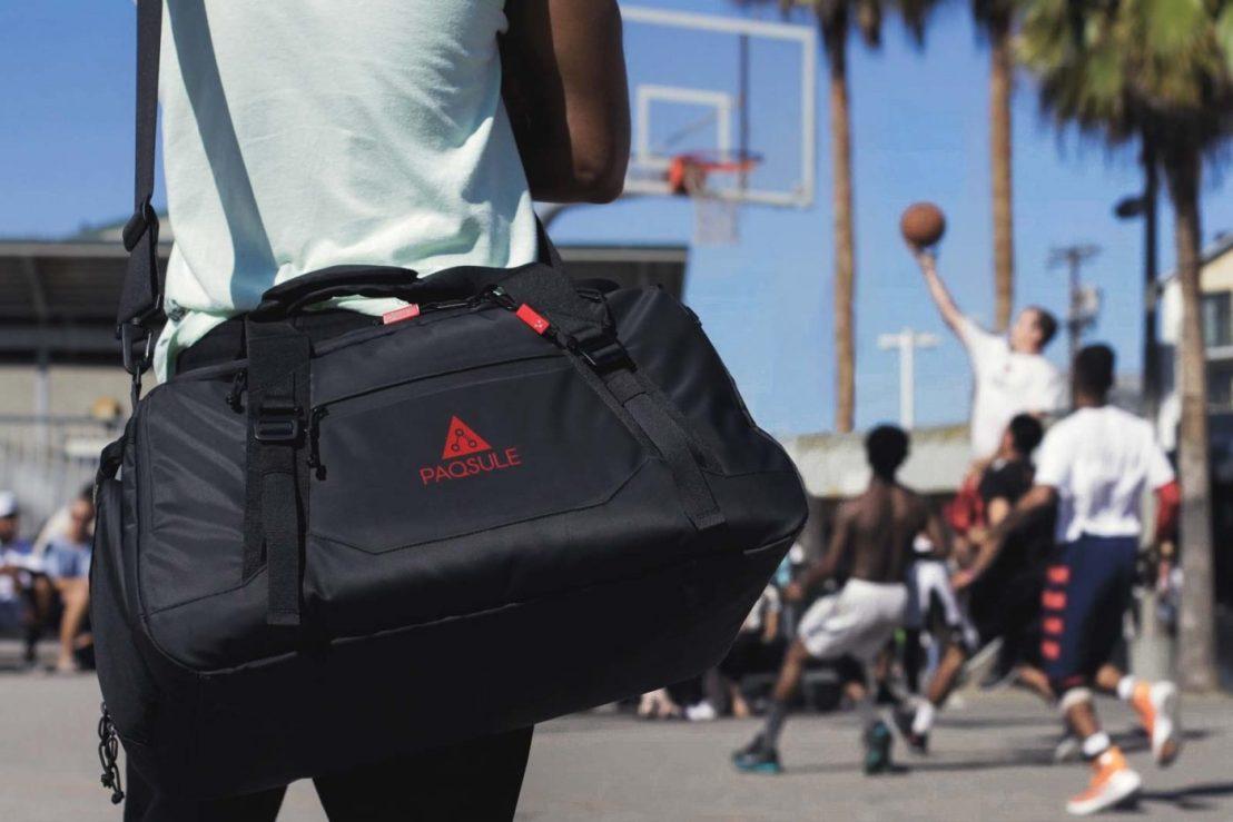 Paqsule le sac de sport révolutionnaire qui… désodorise lesvêtements