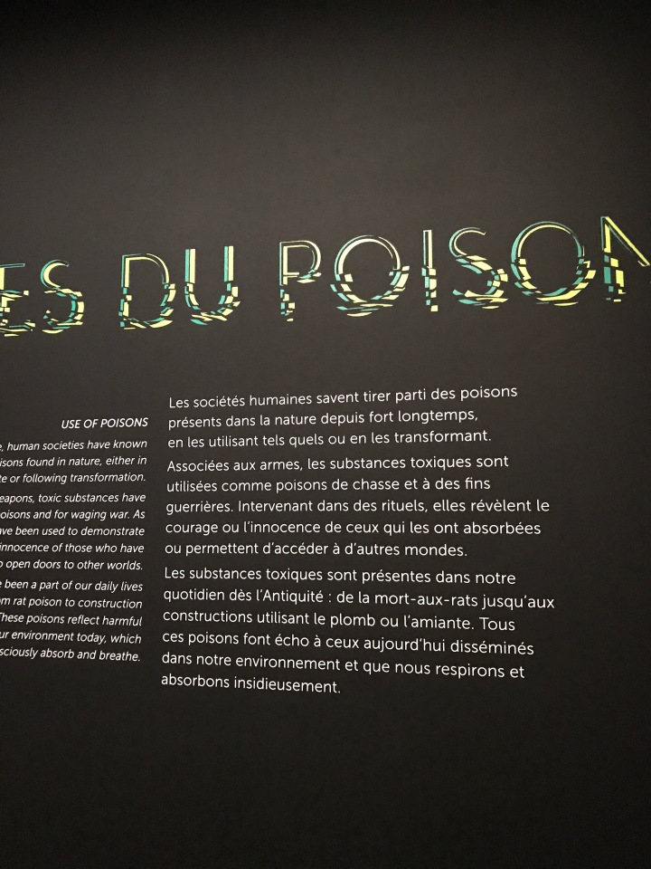 Musée des confluences : Venenum une exposition vivante etpassionnante