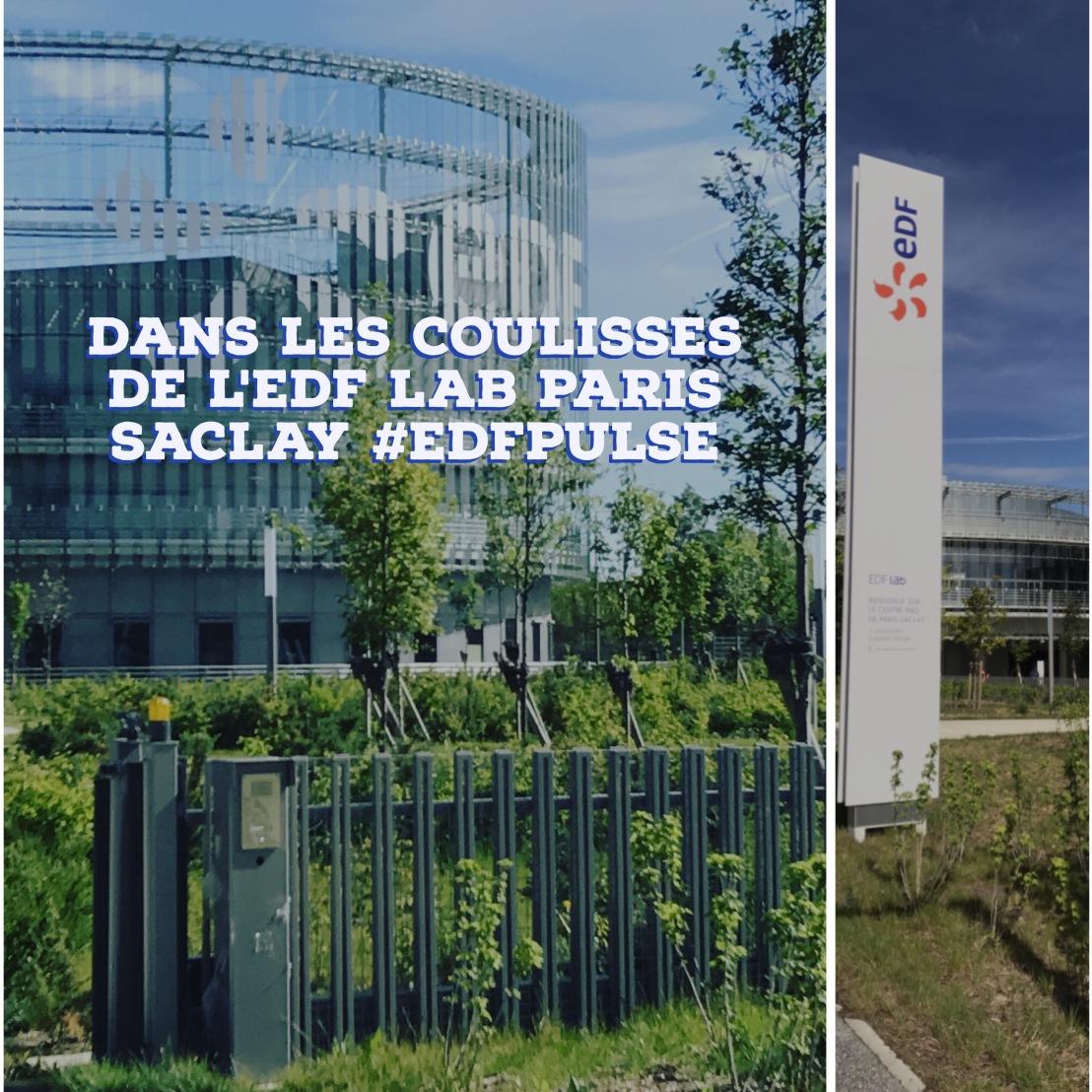 Dans les coulisses de l'EDF Lab Paris-Saclay