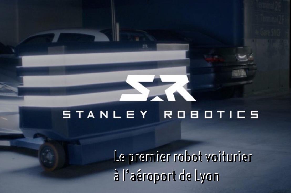 Le premier robot voiturier à l'aéroport deLyon