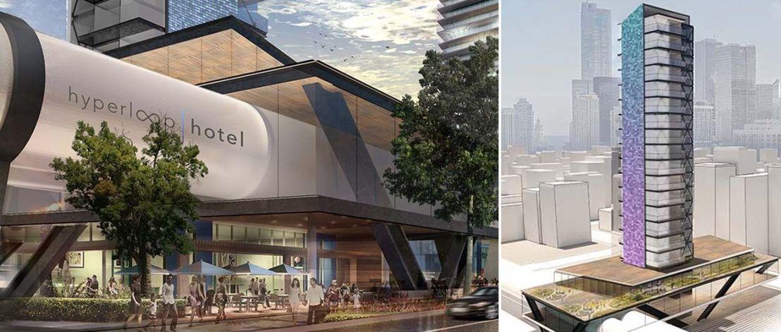 Bienvenue à Hyperloop, l'hôtel futuriste qui voyage à très grandevitesse