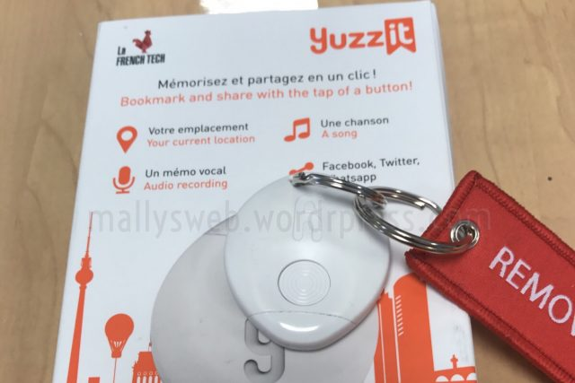 [Test] Yuzz It un objet connecté innovant qui vous facilitera la vie auquotidien