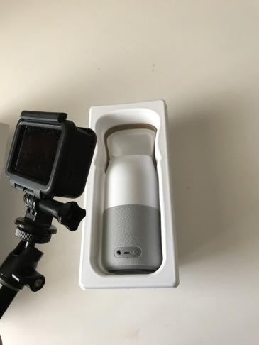 Test de l'enceinte connectée Samsung Bottle