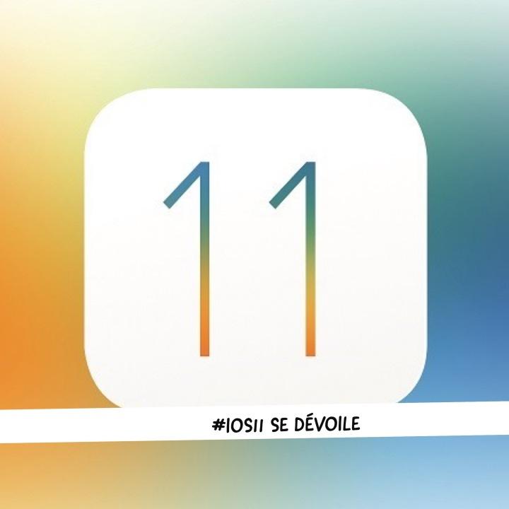 #iOS11 un nouveau centre de contrôle et une gestion inédite desfichiers