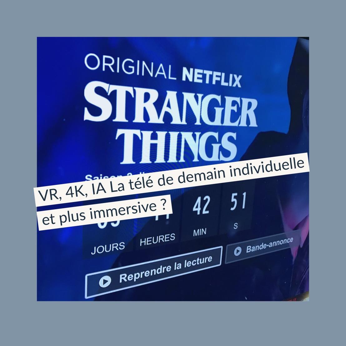 La télé de demain individuelle et plus immersive?