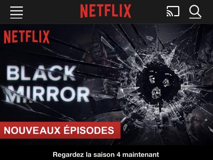 #BlackMirror4 Bienvenue dans un monde virtueldystopique