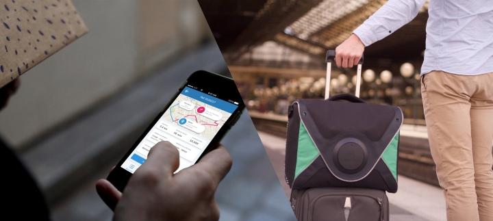 LivingPacketsFR un service de livraison collaborative de colis grâce à un sac à dosconnecté