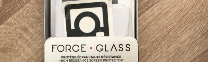 Je teste pour vous   #Forceglass le premier protège écran pour smartphone garanti àvie