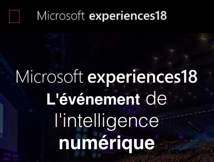 #Experiences18 Les Temps forts : Entretien avec Sebastien Imbert, CMO de @microsoftfrance 