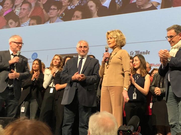 #Lumiere2018 Retour en images sur la cérémonie de clôture#JaneFonda
