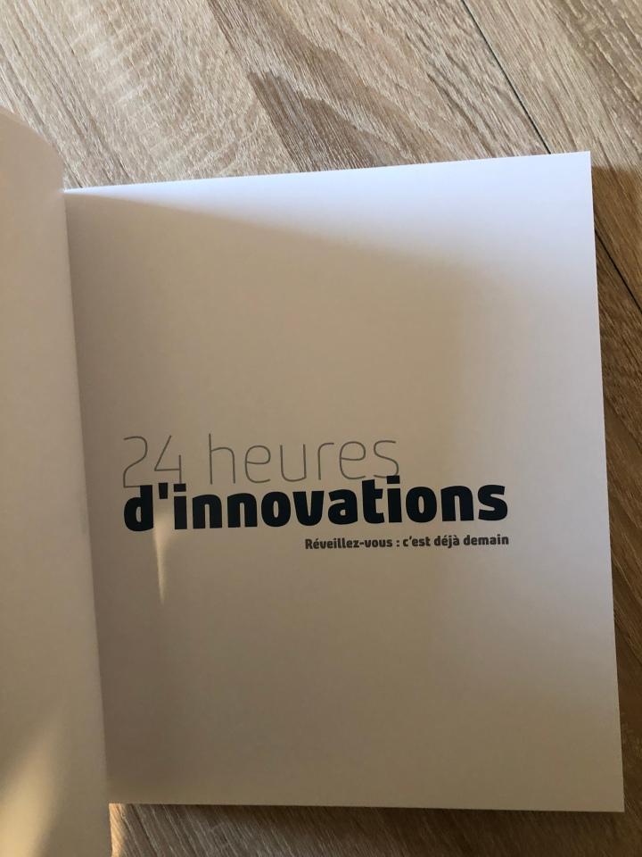 24h d'innovation : réveillez vous c'est déjà demain!