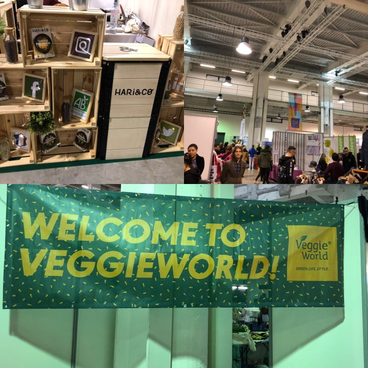 #VeggieWorld Startups, food et innovation, retour  en images ‪@VeggieWorldFR ‬