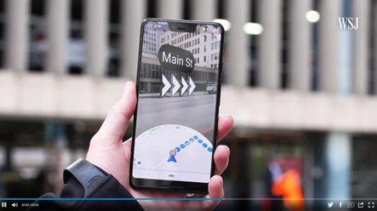 Google Maps en réalité augmentée, c'est imminent!