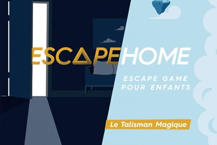 J'ai testé le 1er Escape Home pour enfants : Le Talismanmagique
