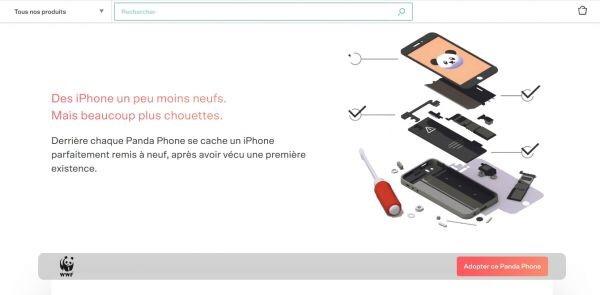 Le WWF France et Back Market lancent l'opération «Panda Phone» pour sensibiliser au recyclage dessmartphones